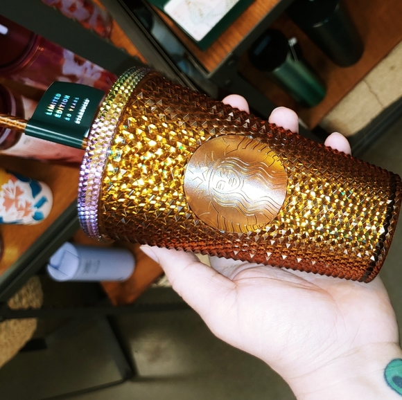 50th anniversary copper studded Tumbler